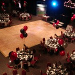 Banquet in the Northlight Theatre as a multi-fuction room