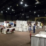 Trade Show in the Northlight Theatre as a multi-fuction room
